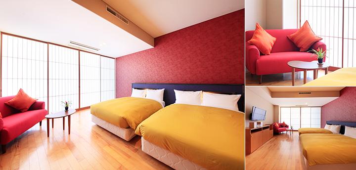 洋室ツインベッド